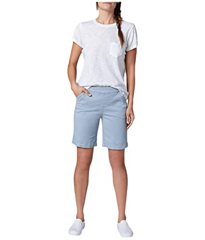Jag Jeans 8 Gracie Pull-On Shorts in Twill (London Fog) Women