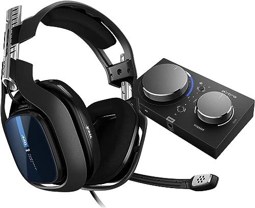 ASTRO Gaming A40 TR Casque Gamer + MixAmp Pro TR, 4ème génération, ASTRO Audio V2, Dolby Audio, Micro Détachable, com...