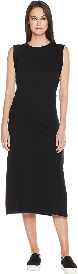 Vince Wrap Waist Dress