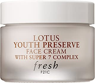 Fresh - Lotus Youth Preserve Face Cream with Super 7 Complex (0.5 oz/ 15 mL)