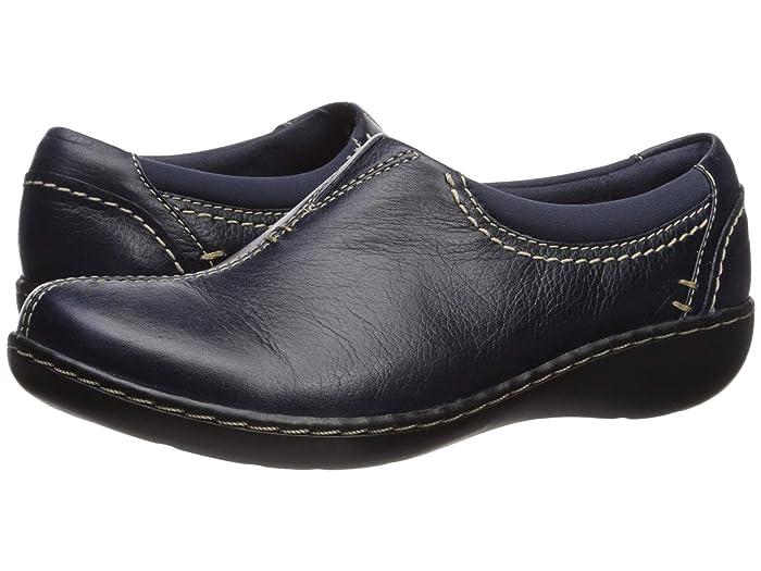 Clarks  Ashland Joy (Navy Leather) Womens  Shoes