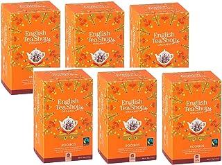 English Tea Shop Bio-Rooibos Hergestellt in Sri Lanka - 6 x 20 Beutel 240 Gramm