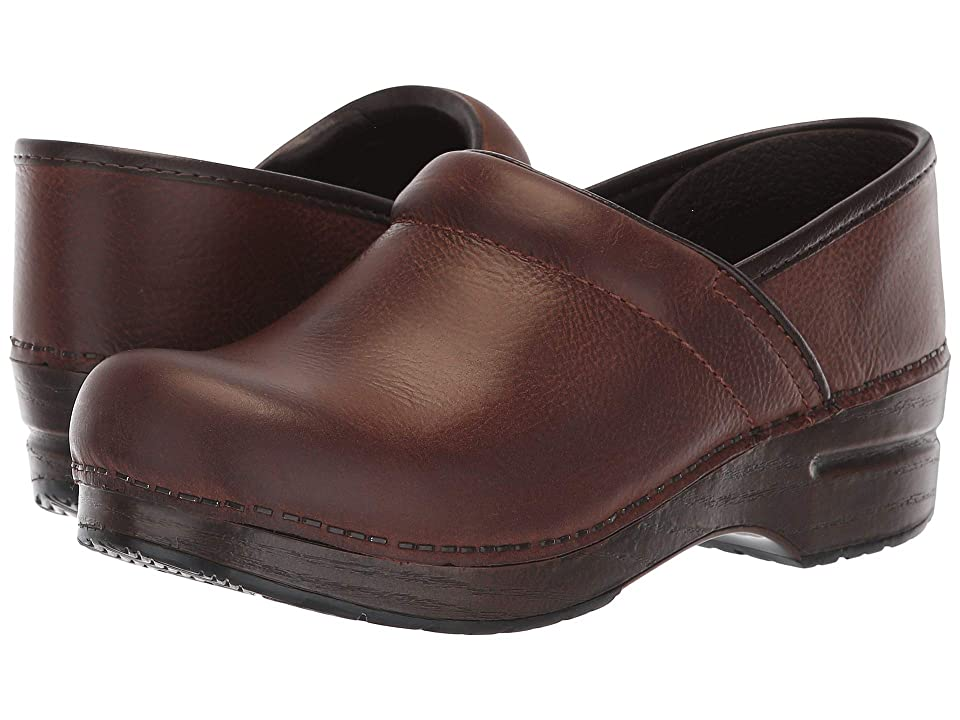 Dansko Professional (Brown Burnished Nubuck) Women