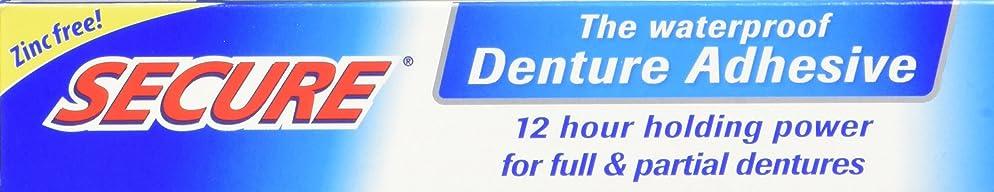 Secure Denture Bonding Cream by Dentek - 1.4 Ounces (Pack of 4) (1.4 oz)