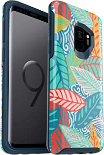 OtterBox Symmetry Series Case for Samsung Galaxy S9 - Bulk Packaging - Anegada by Trèfle (Colorful Flowers)