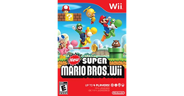 Nintendo Rvlpsmne New Super Mario Bros Wii Amazon Sg Video Games