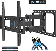 Mounting Dream TV Wall Mounts TV Bracket for Most 32-55 Inch Flat Screen TV/Mount Bracket, Full Motion TV Wall Mount with Swivel Articulating Dual Arms, Max VESA 400x400mm, 99 LBS Loading MD2380