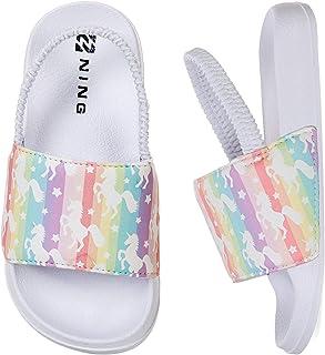 Pantofole estive Ragazzi Ragazze Sandali da Piscina in Piscina Bagno Pantofole Antiscivolo Pantofole per Interni ed Esterni