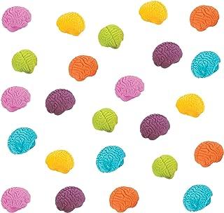FunEx Brain Shaped Erasers Lot of 20