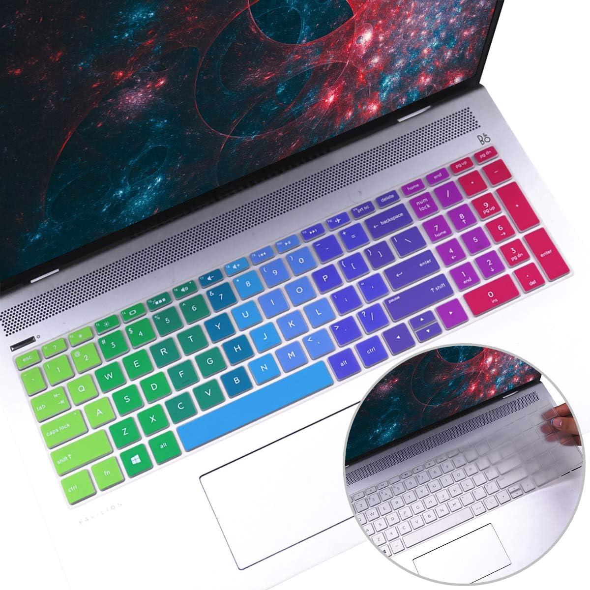 Protector de teclado USA HP 15-db 15-dw 15-dy (ver modelos)