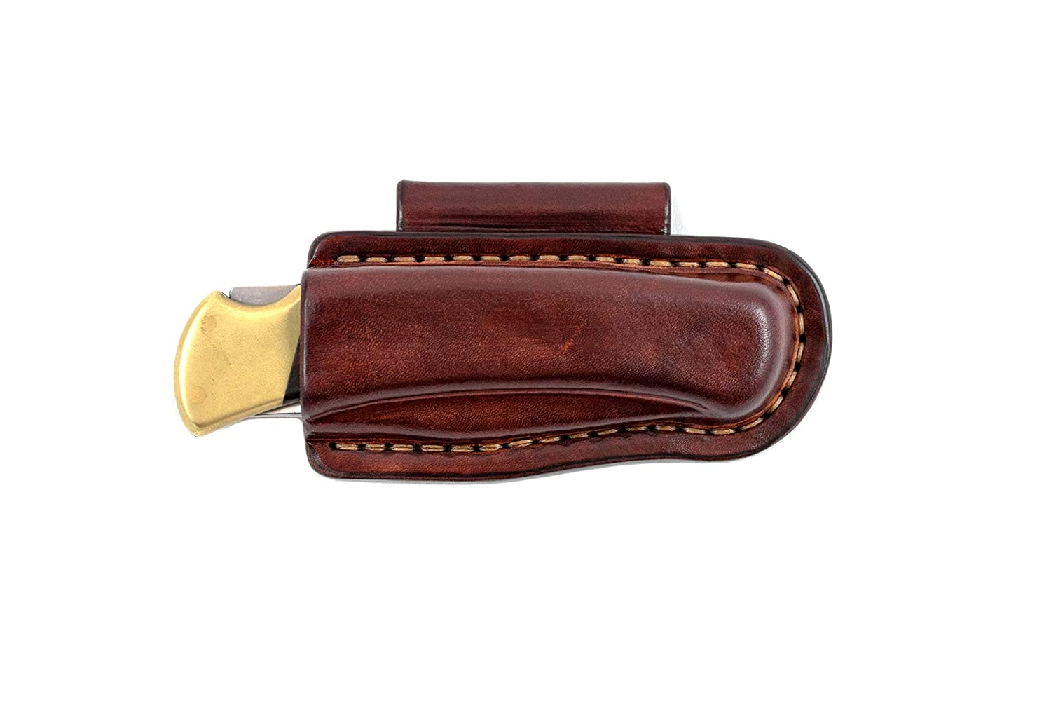 Horizontal Carry sheath with belt loop fold Spasm price Buck 110 made to fit Genuine