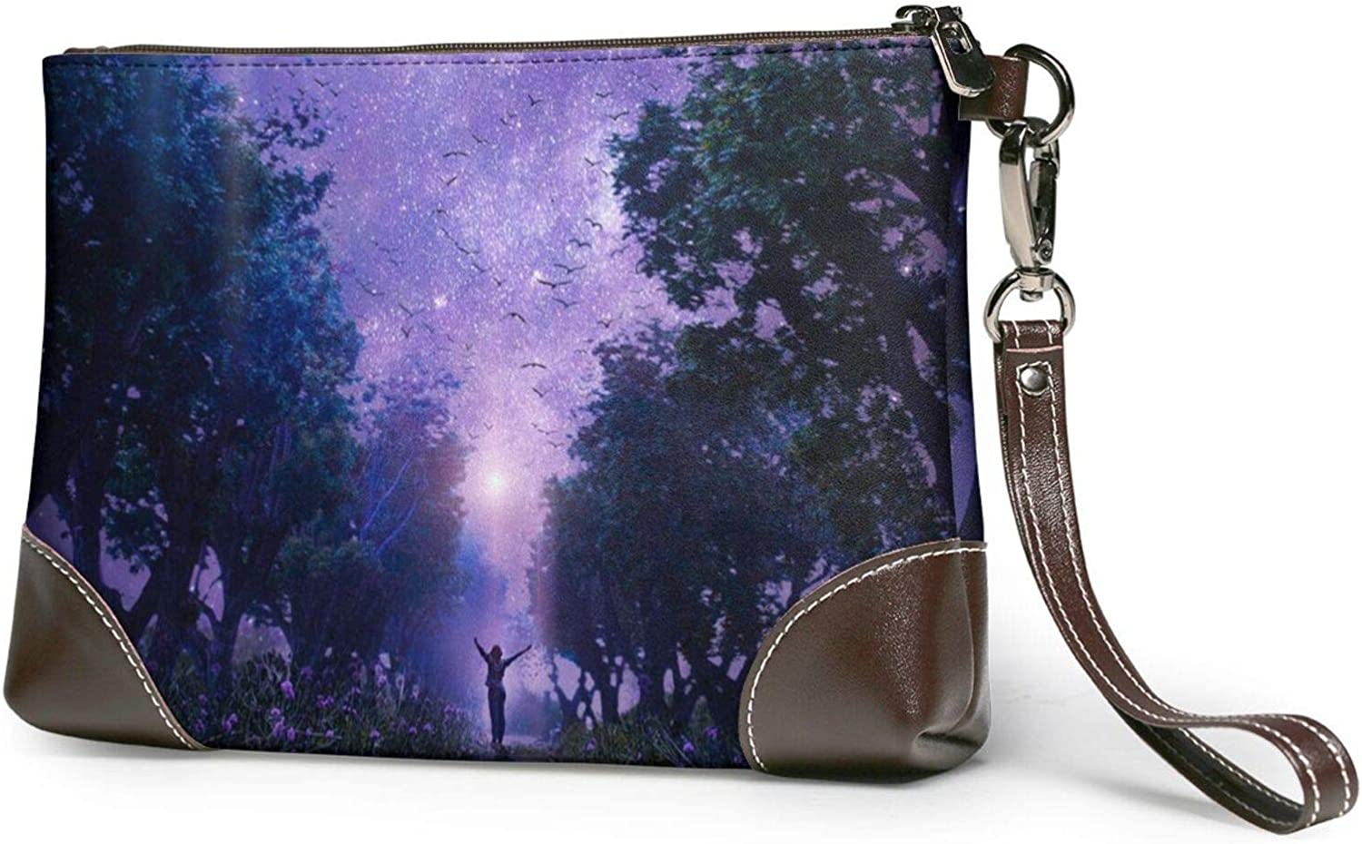 Ranking Mail order cheap TOP6 Forest Starry Clutch Purses Wristlet Leather Wallet Purse
