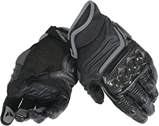 Dainese Carbon D1 Short Gloves Motorcycle Gloves, Black, X-Large