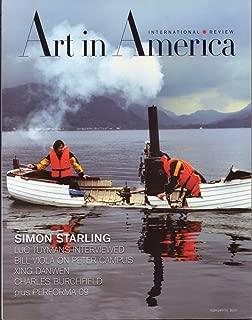 ART IN AMERICA Magazine February 2010 No. 2 (International Review, Simon Starling, Luc Tuymans interviewed, Bill Viola ob Peter Campus, Xing Danwen, Charles Burchfield, Performa 09)