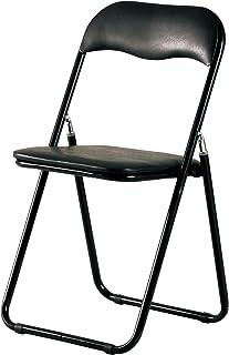 椅子 折り畳み イス ブラック PFC-9S (BK)