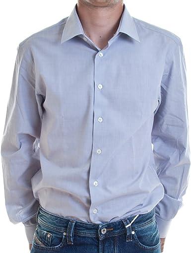 Calvin Klein - Camisa formal - Básico - para hombre azul azul ...