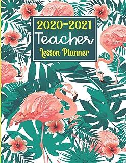 Teacher Planner 2020-2021: Teacher Gift: Teacher Lesson Planner, Weekly and Monthly Agenda Calendar   Academic Year - May ...