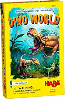 HABA Dino World Game - An Exciting Prehistoric Hunt for Ages 6 and Up (Made in Germany)