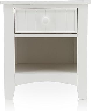 Furniture of America Alaia White Nightstand