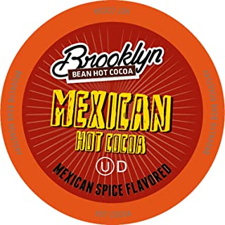 Brooklyn Beans Mexican Cocoa Hot Chocolate Pods, Compatible with 2.0 Keurig K-Cup Brewers, 40 Count