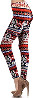 Gracyoga Women High Waist Legging Super Soft Full Length Pants Tight Pants Wih Two Back Pockets—Solid Color and Printed