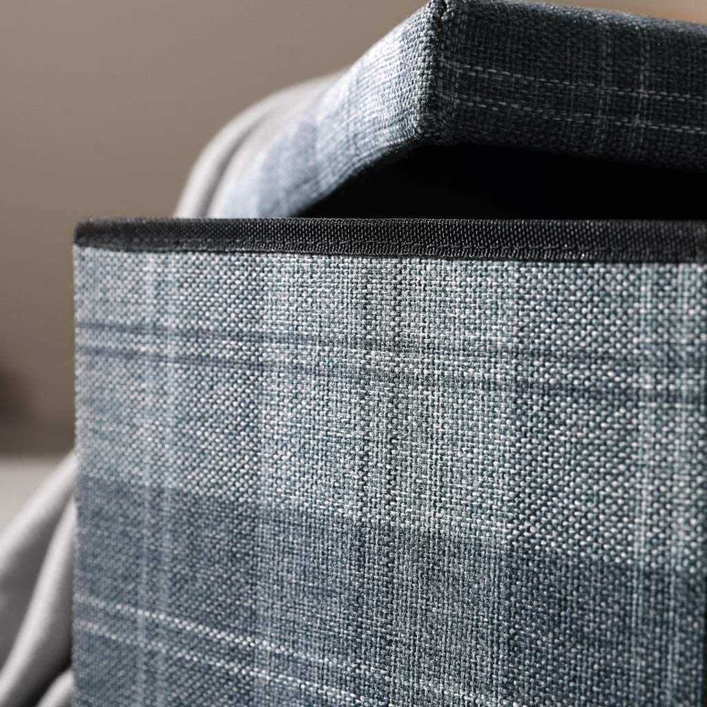 AINIYF Tabouret de Rangement Change Banc de Chaussures Creative Grille Pouffe Siège Chaise Ottoman Multifonction Repose-Pieds Boîte (Color : Gray) Gray
