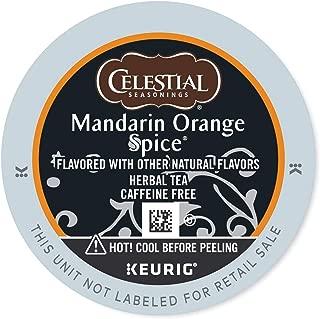Celestial Seasonings Mandarin Orange Spice Tea, Keurig Single Serve K-Cup Pods, 96 Count