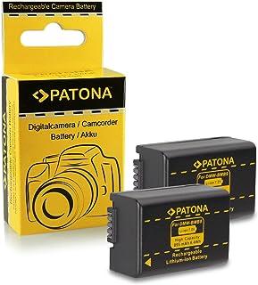 2x Batería Panasonic DMW-BMB9 E | Leica BP-DC9 E para Panasonic Lumix DMC-FZ40 | DMC-FZ45 | DMC-FZ47 | DMC-FZ48 | DMC-FZ60 | DMC-FZ62 | DMC-FZ70 | DMC-FZ72 | DMC-FZ100 | DMC-FZ150 - Leica V-LUX 2 | V-LUX 3