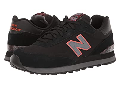 New Balance Classics ML515v1-USA (Black/Castlerock) Men