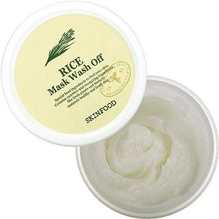 Best SKINFOOD Rice Mask Wash Off 3.53 oz (100g) - Rice Exfoliating Wash Off Scrub Mask for Darken Skin Review