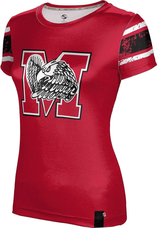 ProSphere Milford High School Girls' Performance T-Shirt (End Zone)