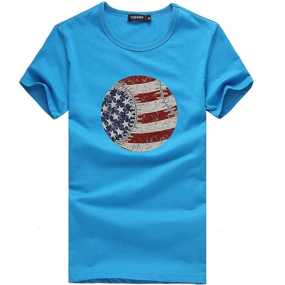 ★QueenBB★ Basic t Shirt Women Tunic Tops T Shirt Long Short Sleeves Blouse Super Comfy American Flag 4th of July