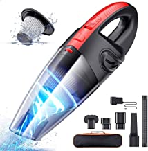 Handheld Vacuum Cordless, Portable Hand Vacuum Cleaner for Car and Home, Lightweight Cordless Rechargeable Vacuum Cleaner ...