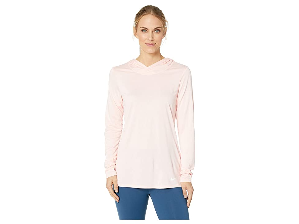 Nike Dry Legend Training Top (Storm Pink/White/White) Women
