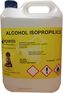 Alcohol Isopropilico 99%. Envase 5 Litros.