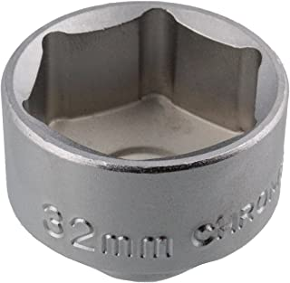 ABN Oil Filter Wrench – 32mm Metric, Low Profile, CRV Steel – Socket Tool to Remove Cartridge Style Housing Canister Cap