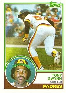1983 topps tony gwynn 482