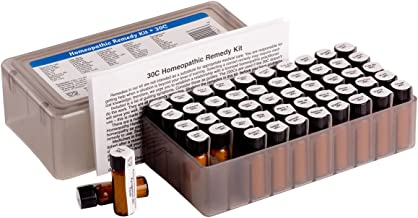 50 Remedy Homeopathic Kit. Contains 50 of the most commonly used and recommended 30c homeopathic remedies.