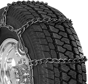 Security Chain Company QG3229CAM Quik Grip Wide Base Type CAM-DH Light Truck Tire Traction Chain - Set of 2: image