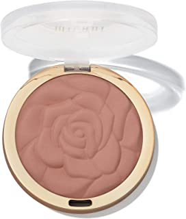 Milani Rose Powder Blush - Romantic Rose (0.6 Ounce) Cruelty-Free Blush - Shape, Contour & Highlight Face with Matte or Shimmery Color