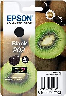 Epson 202 Serie Kiwi, Cartuccia originale getto d'inchiostro Claria Premium, Formato Standard, Nero