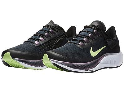 Nike Air Zoom Pegasus 37 FlyEase (Black/Ghost Green/Valerian Blue) Women