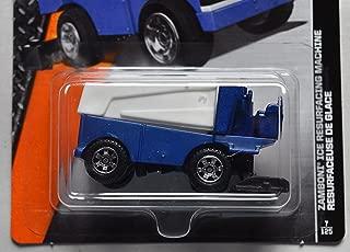 Set of 2 Zamboni Matchbox Cars Ice Hockey Resurface Arena Equipment NHL One LA Kings Purple Vehicle 2017 1 Blue Machine 2016