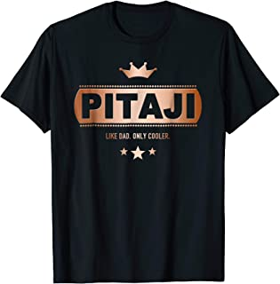 Pitaji Like Dad Only Cooler Tee-Shirt for a Hindi Father