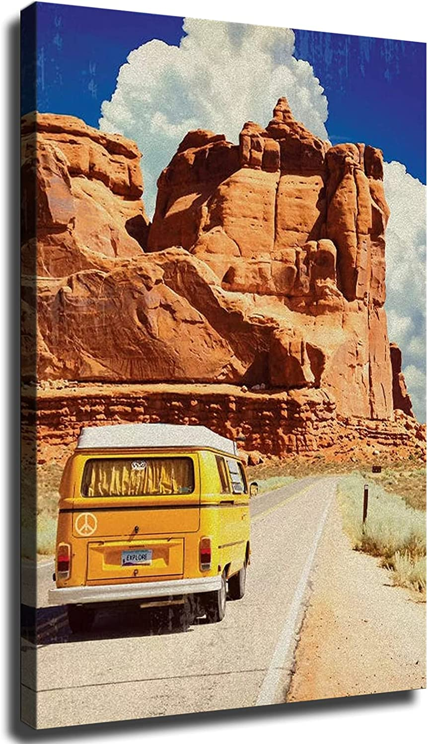Arizona Crusin Poster Canvas Print Kit Luxury Modern Wall Art Manufacturer direct delivery Classroom