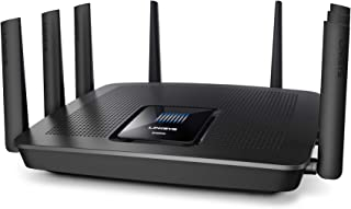 Linksys EA9500 Max-Stream AC5400 MU-MIMO Tri-Band WiFi Router (4 Gigabit Ethernet Ports, 4K HD Streaming & Gaming)