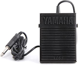 Yamaha FC5 Compact Sustain Pedal for Portable Keyboards, black (Renewed)