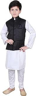 Boys Indian Modi Nehru Gandhi Style Waistcoat for Bollywood party 006