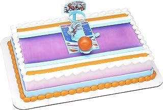 سبيس جام: إرث جديد Tune Squad DecoSet® Cake Topper Hoop و Basketball و Launcher
