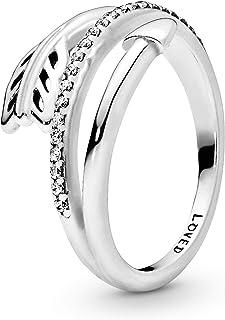Pandora Women Cubic Zirconia Pandora Ring Silver